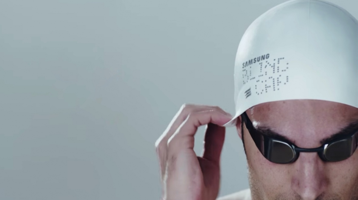 Samsung Blind Cap helps Paralympic swimmers