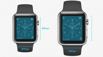 Apple Watch display resolution outed