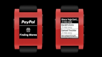 PayPal releases Pebble app for payments