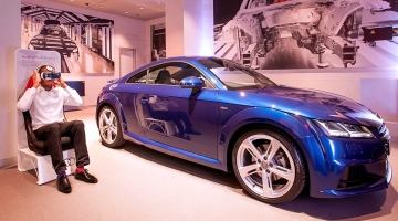 Samsung Gear VR takes Audi for a spin
