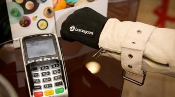 Contactless payment gloves trialled
