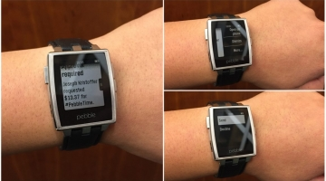 Reply to notifications on Pebble watch