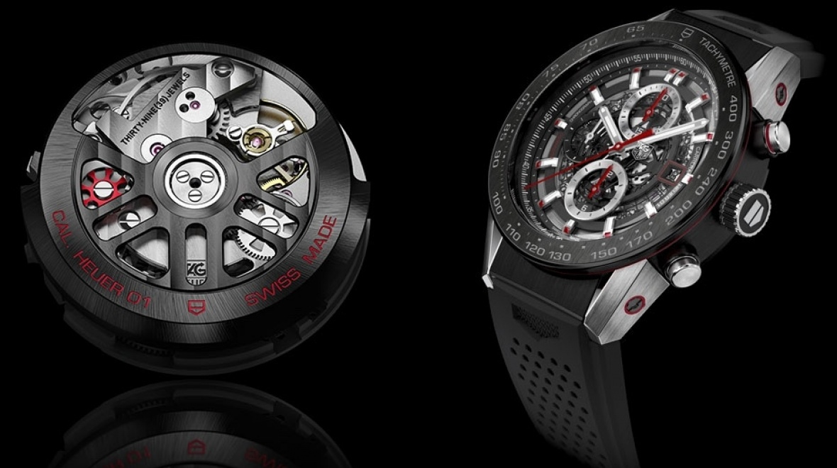 Tag Heuer Carrera Wearable 01 revealed