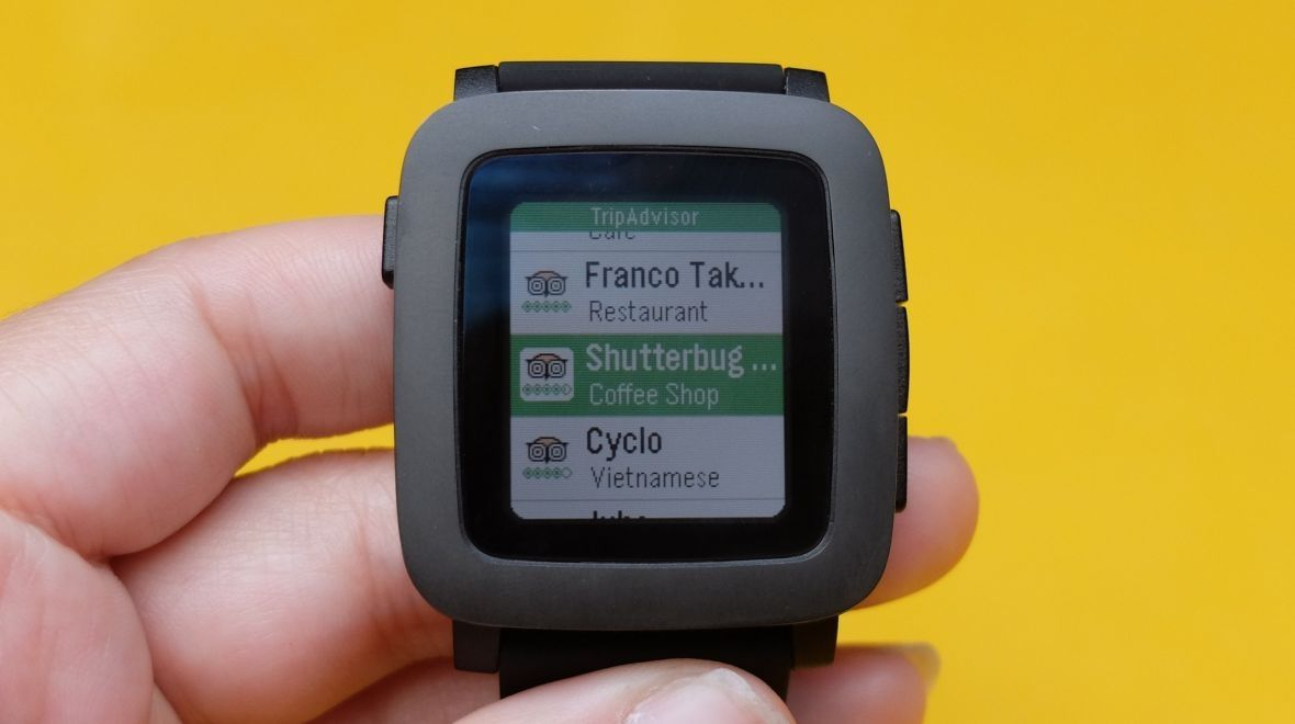 Round Pebble smartwatch is incoming