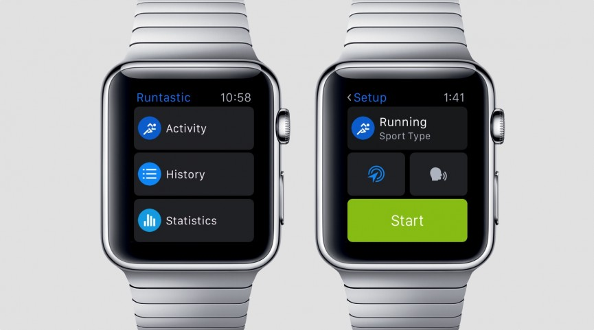 Give yourself a hand sticking to any new years resolutions by downloading  the Runtastic app for Apple Watch.
