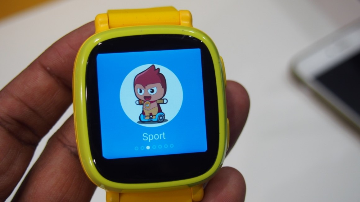 Omate Wherecom K3 First Look A Smartwatch For The Kids
