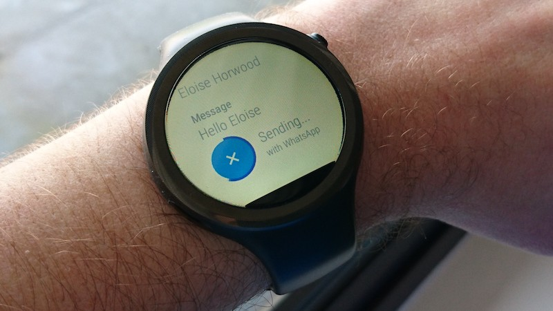 Android Wear voice controls