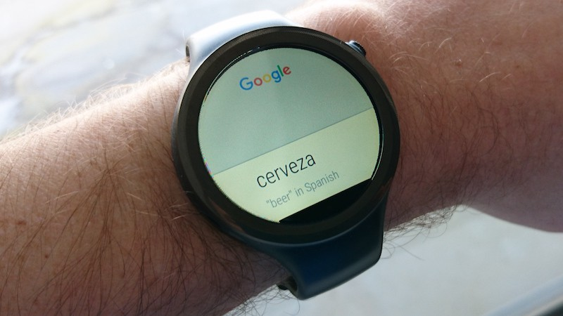 android wear voice commands