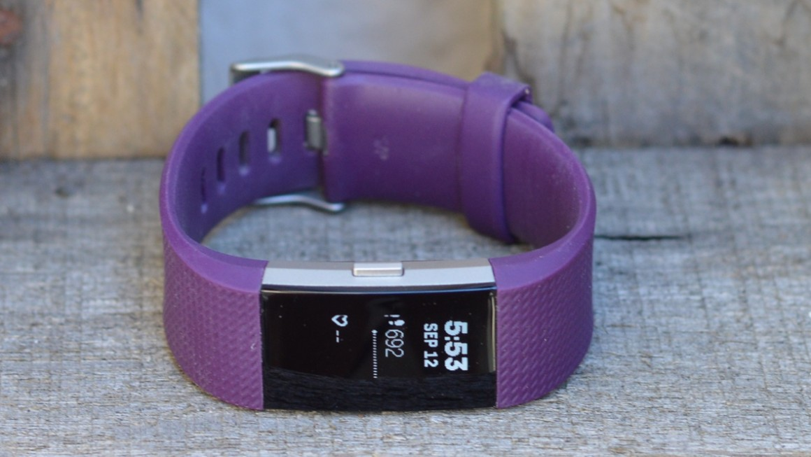 Fitbit charge 2 design and comfort