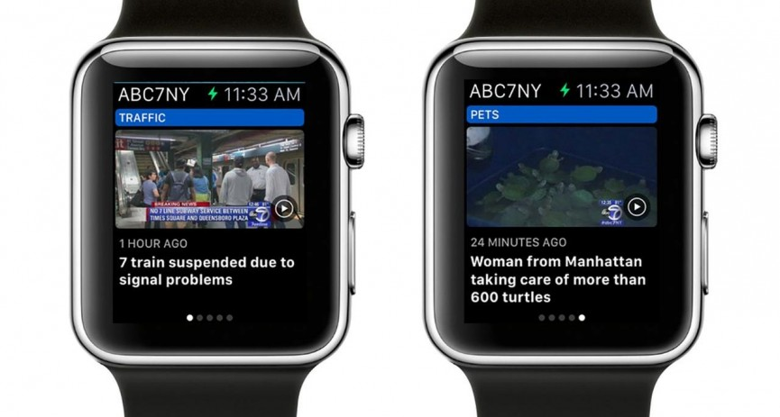 apple watch series 2 news apps