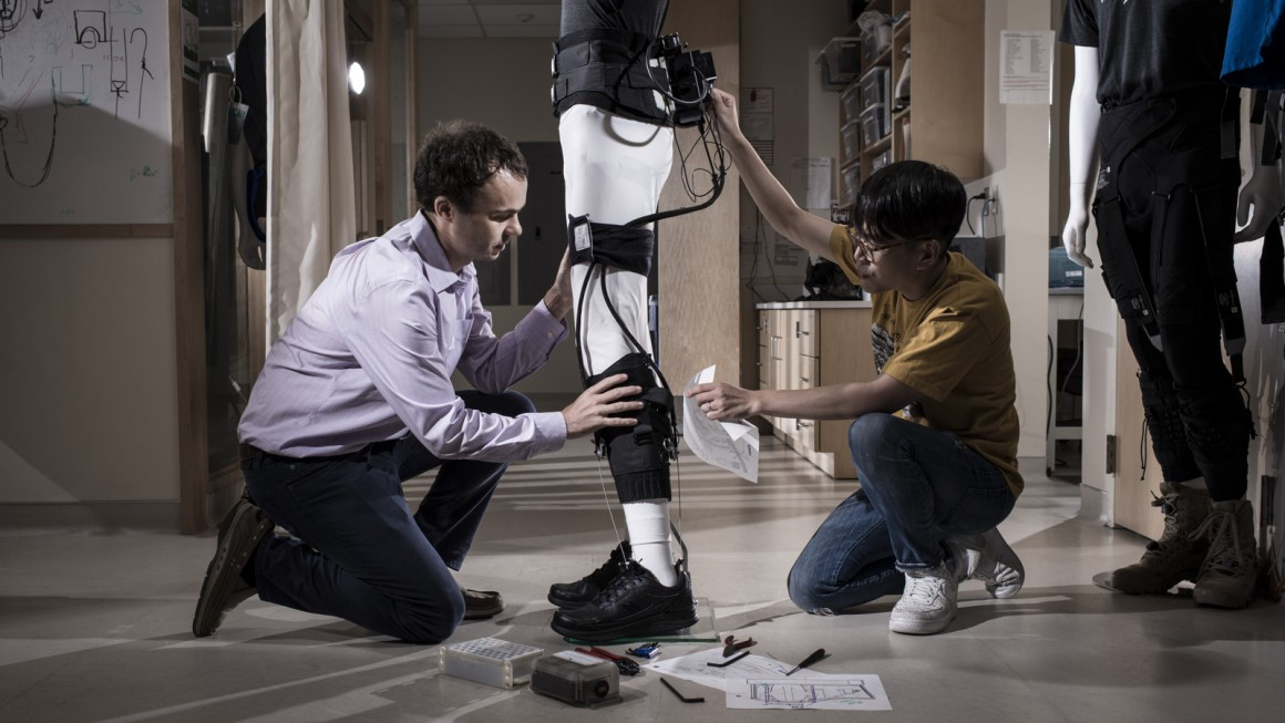 Exo-stential powers: How a wearable robot will help people walk again