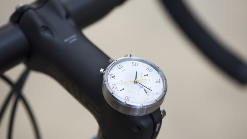 Moskito is a retro speedometer and smartwatch in one