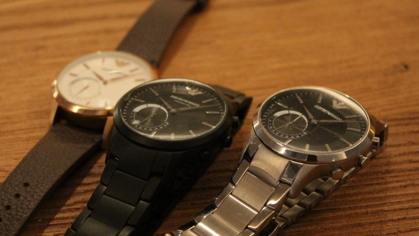 Fossil's Winter 2016 collection: Armani, Diesel and Kate Spade