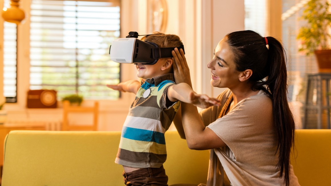 How safe are VR headsets for kids?