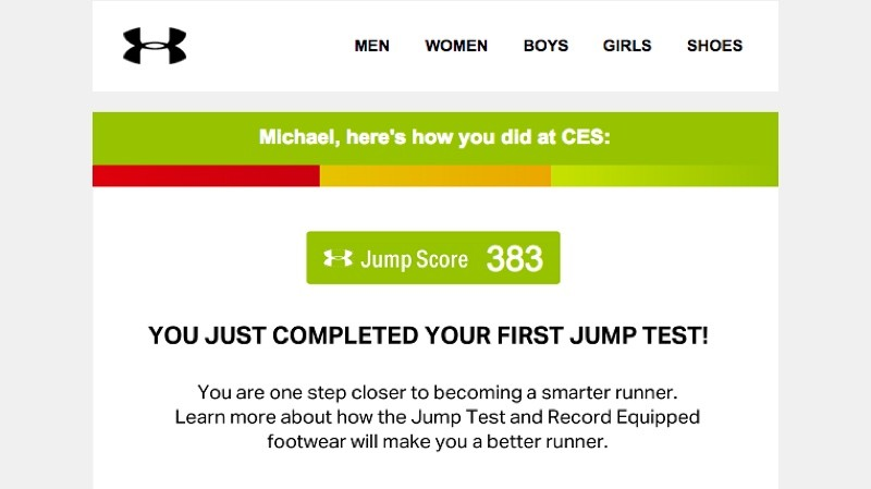 The jump science behind Under Armour's smart running shoes