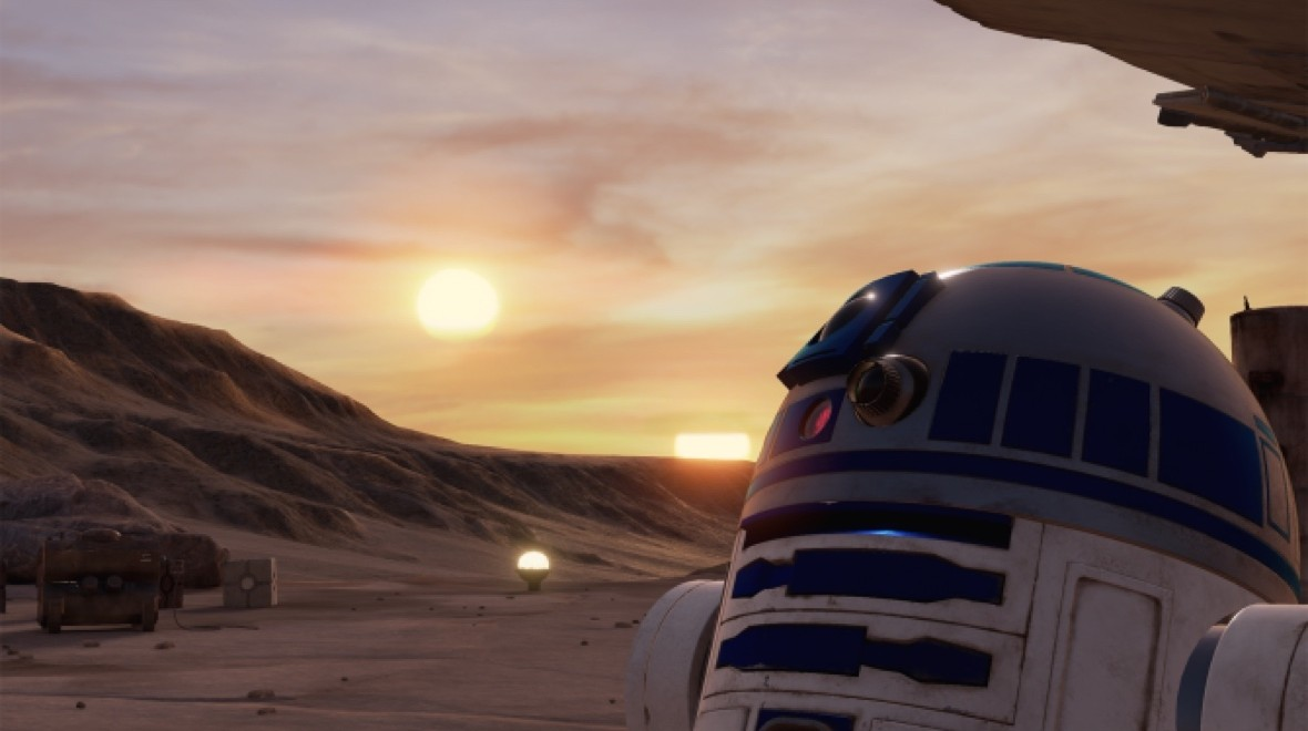 VR Star Wars is everything