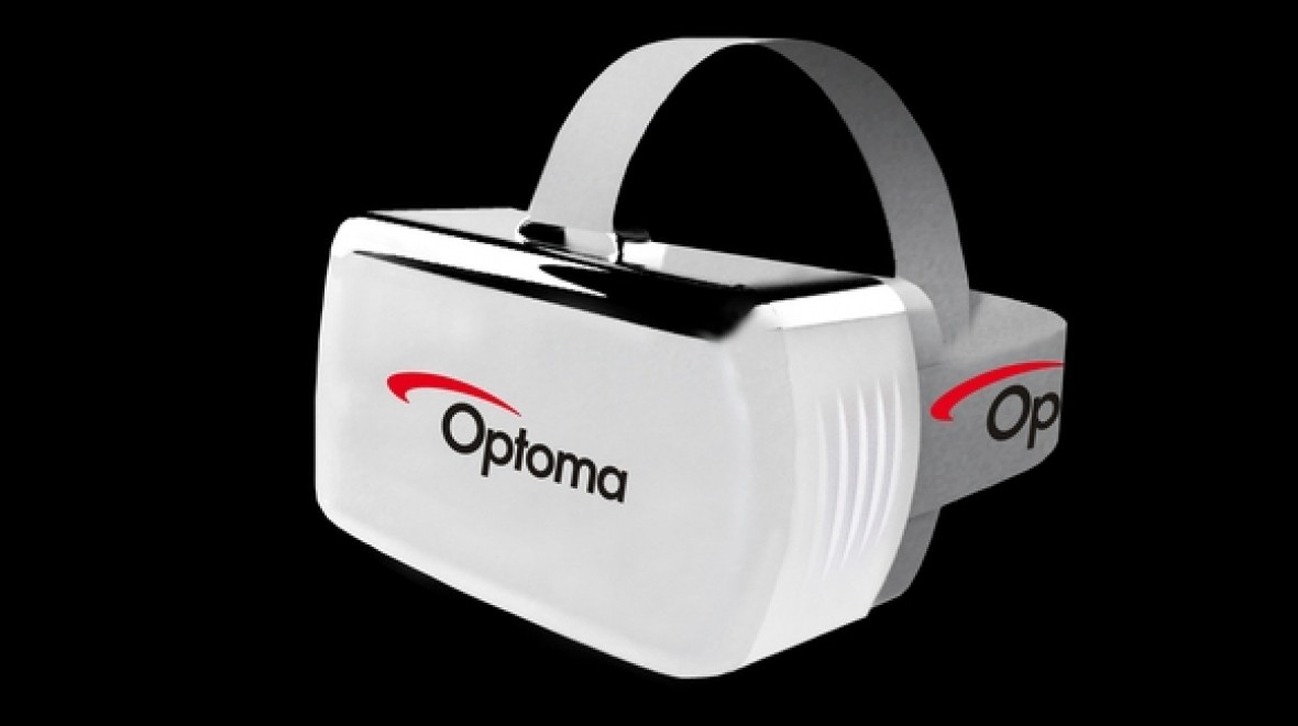 Optoma has built a wireless VR headset
