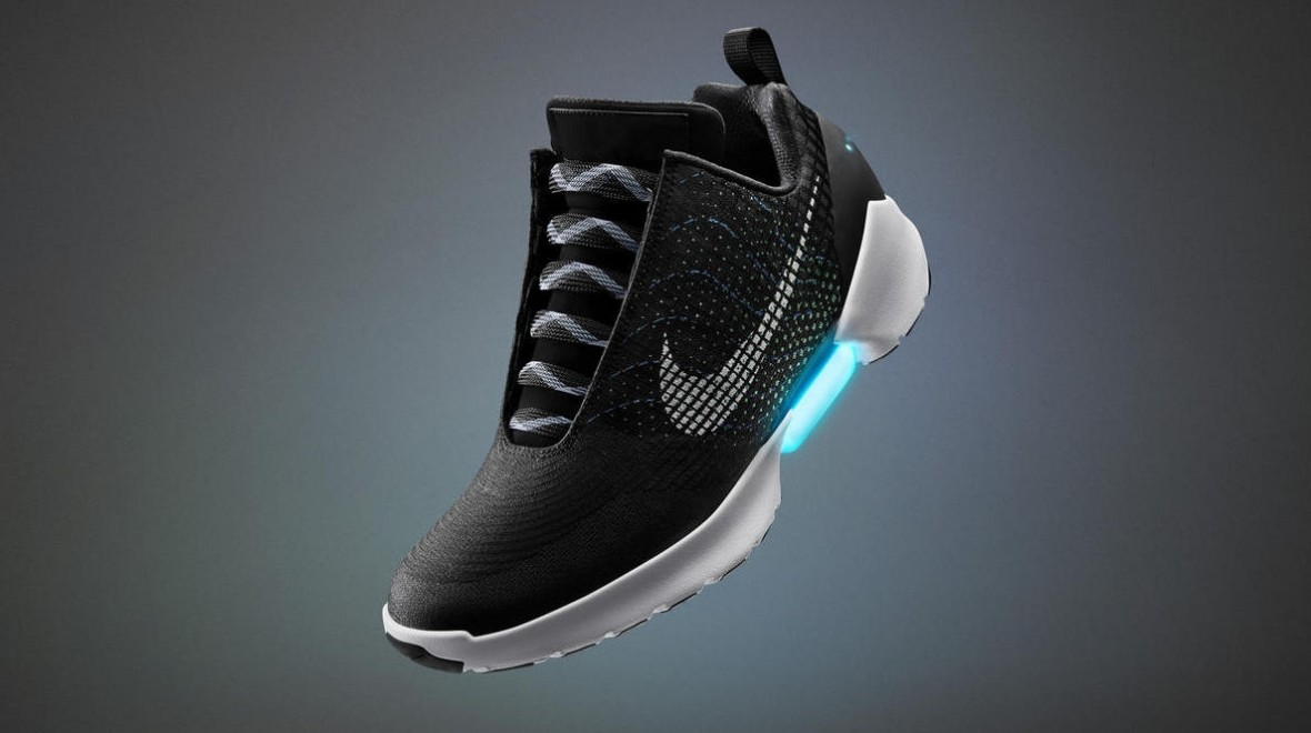 And finally: Nike's self tying laces