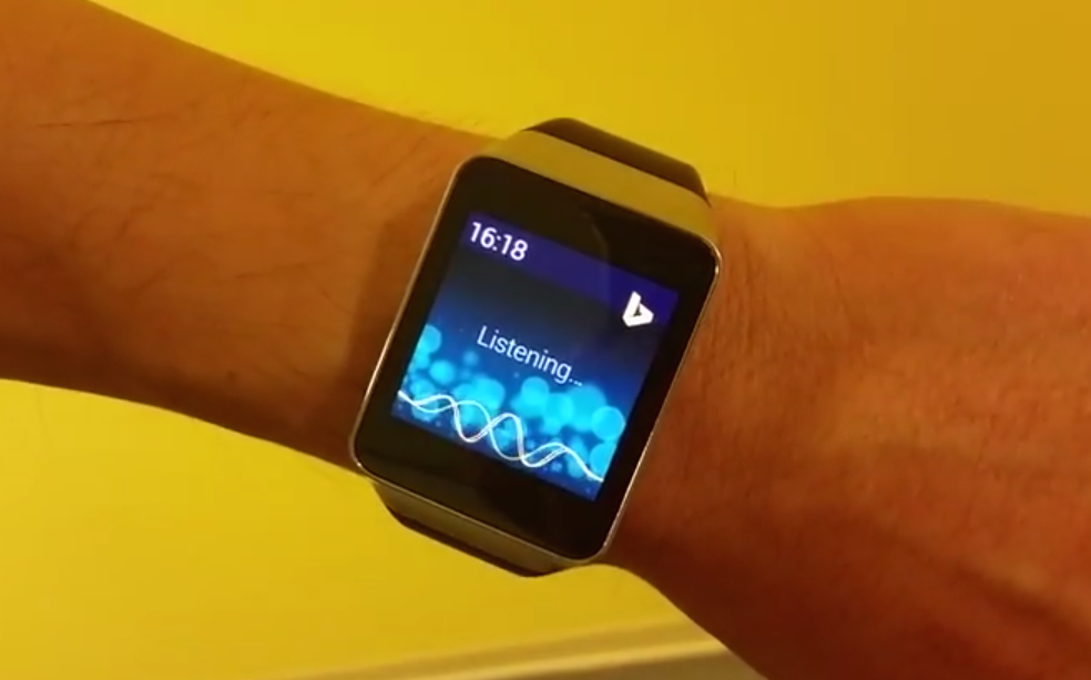 Microsoft torque brings a bit of bing to android wear
