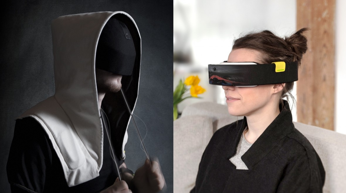 Two VR headset concepts for 2020