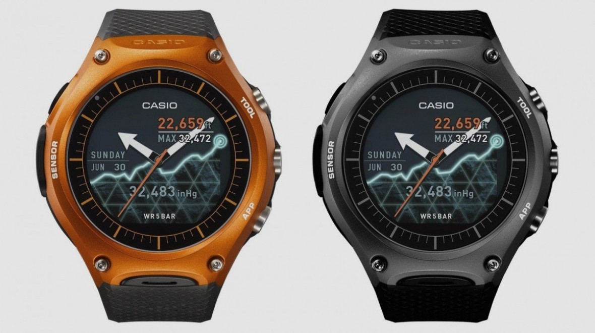 ​Casio WSD-F10 not heading to Europe