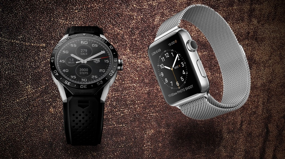 Apple Watch v Tag Heuer Connected