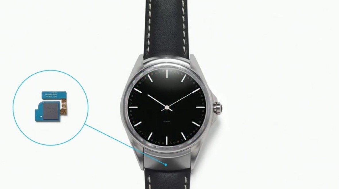 And finally: LG's gesture smartwatch
