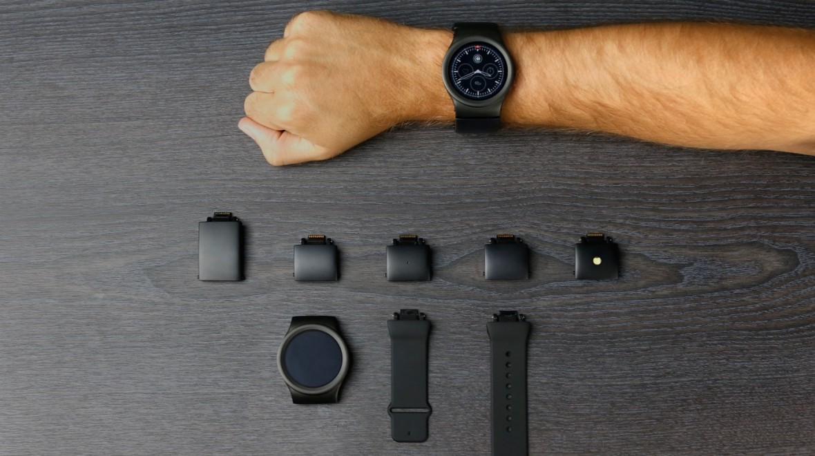 Here's the final Blocks smartwatch design