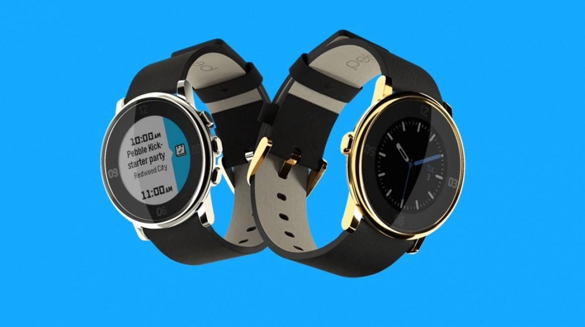 Pebble Time Round gets two limited editions