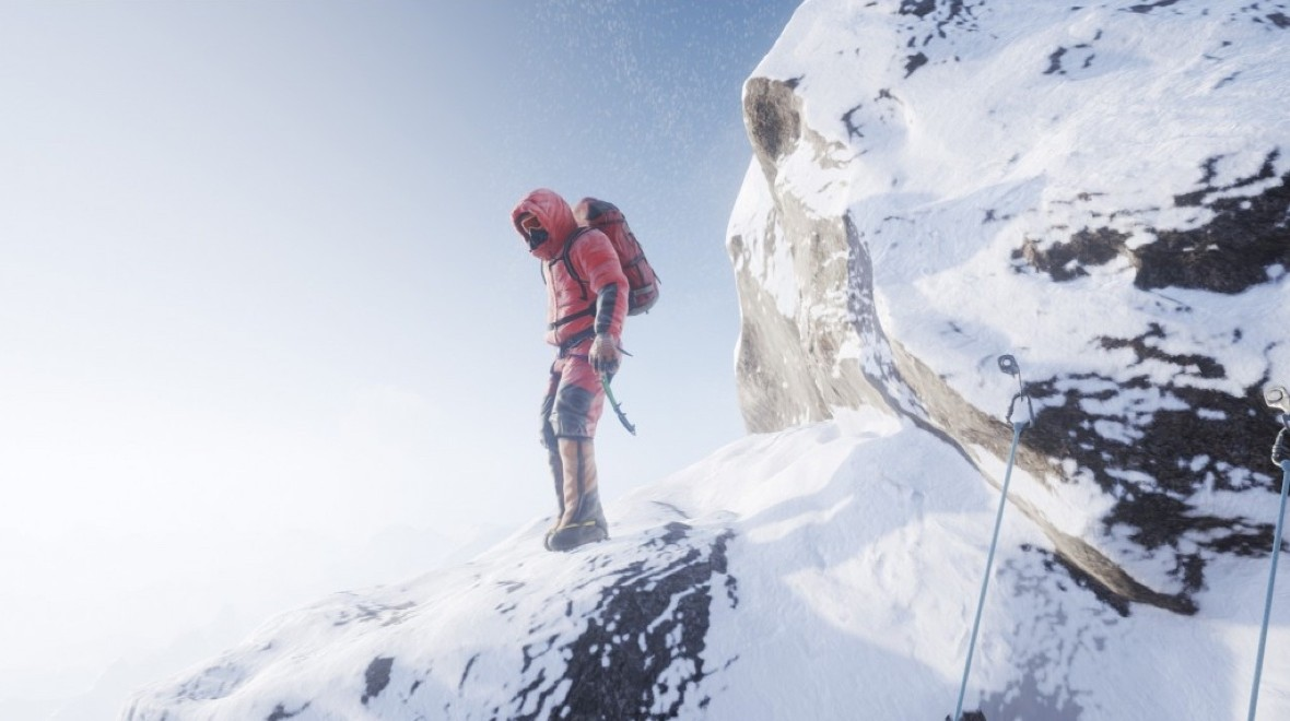Climbing Everest in VR