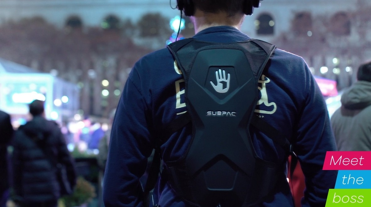 SubPac CEO: Feeling the bass 24/7