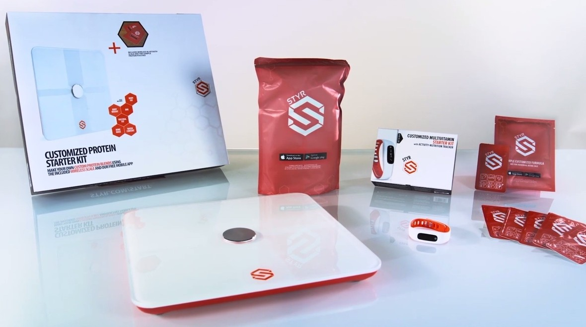 Styr turns fitness data into supplements