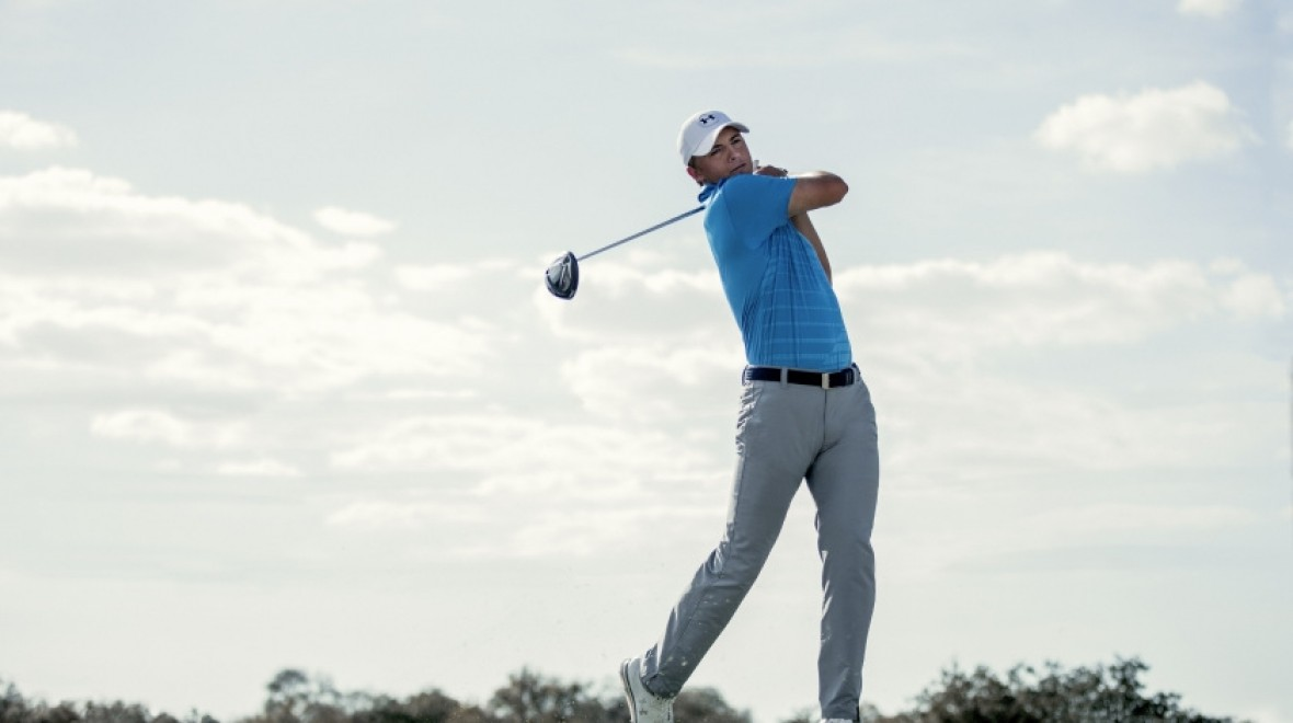 UA smart golf shoe tested at The Open