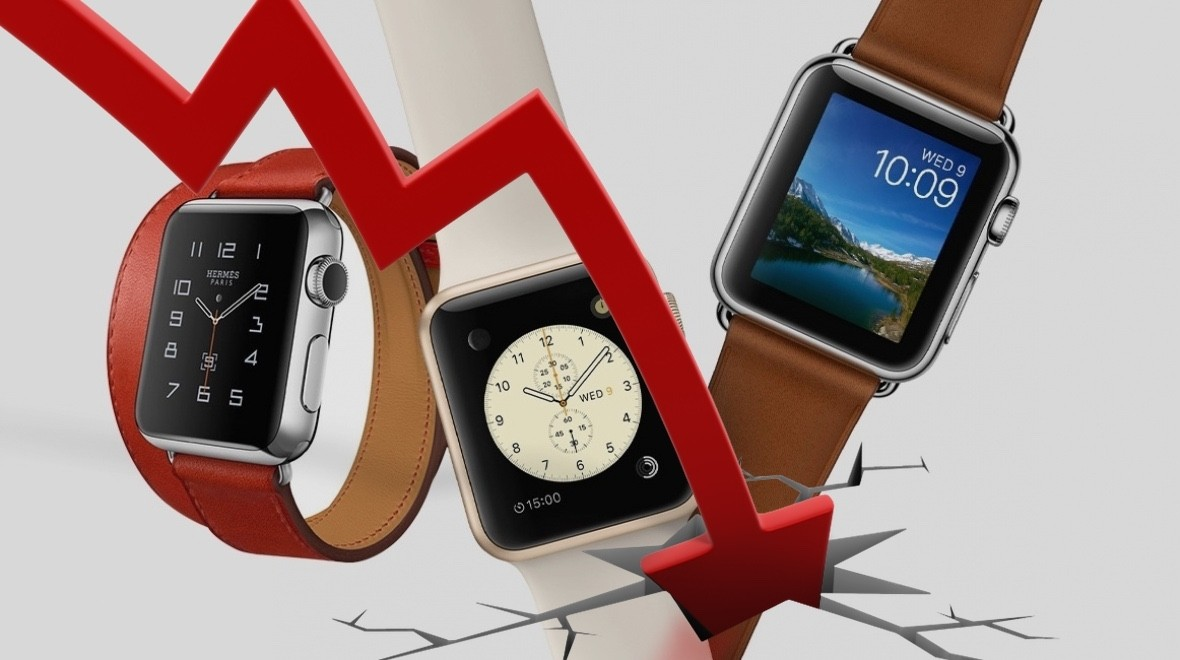 Apple Watch sales figures take a hit