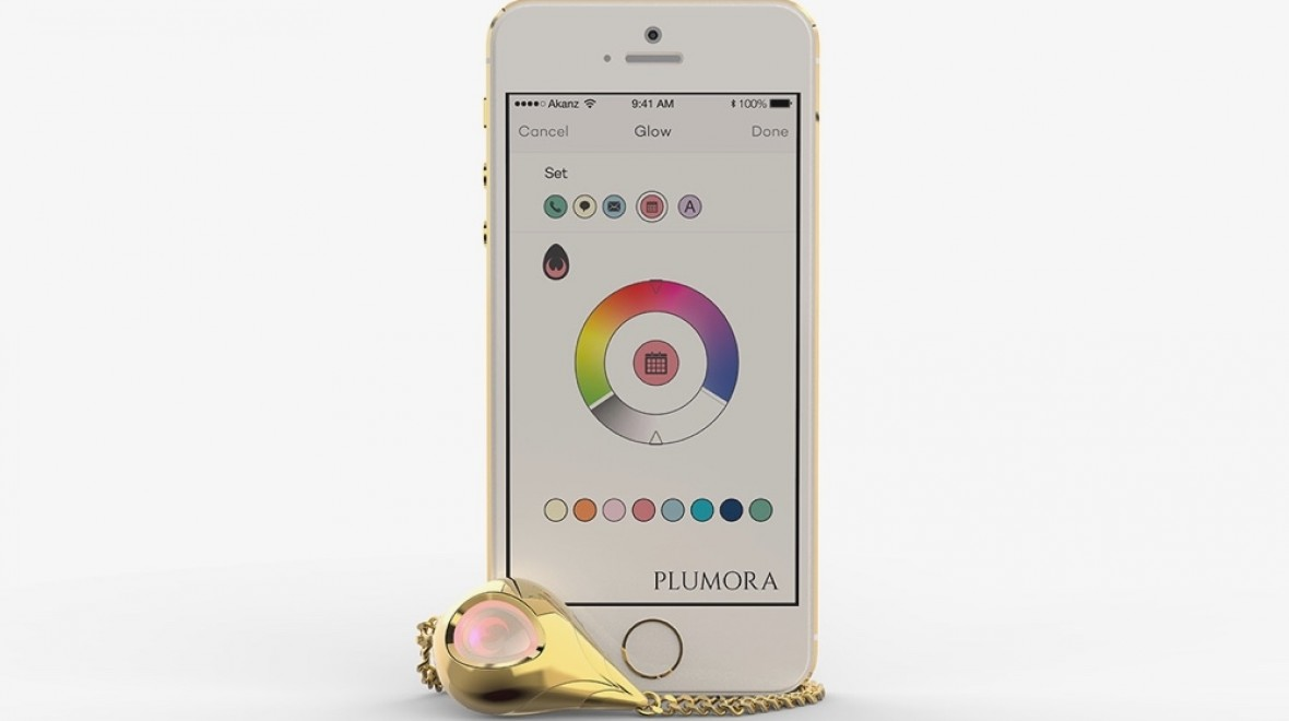 Plumora seeks fashion foray for wearables