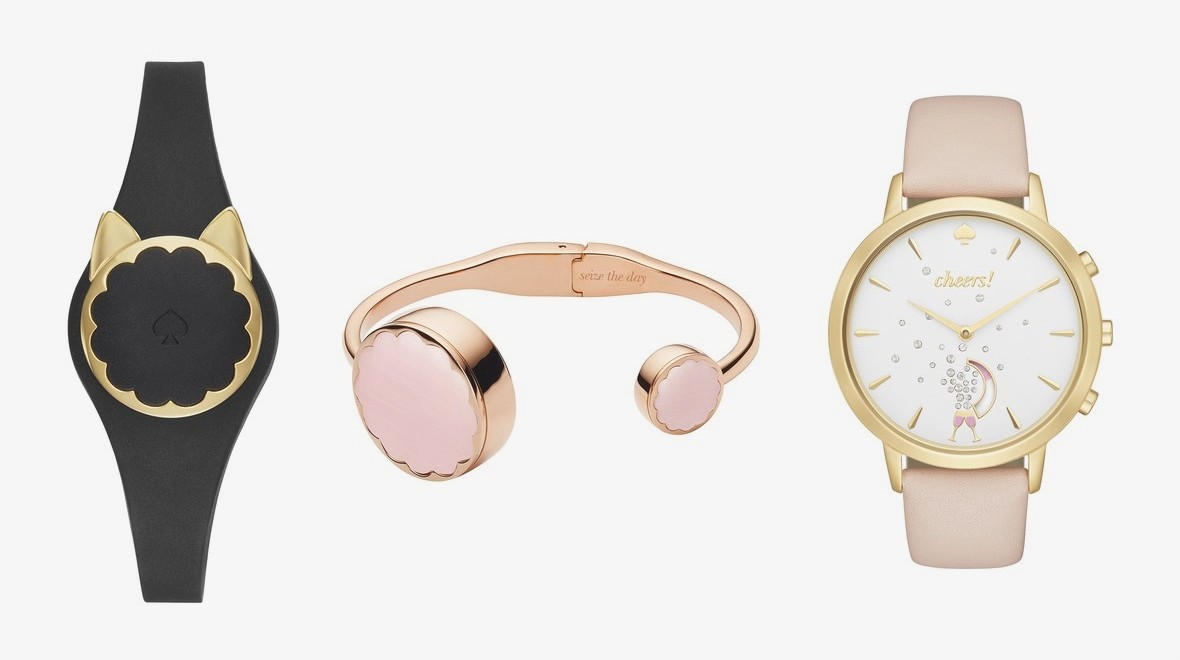 Kate Spade's quirky first tracker lands