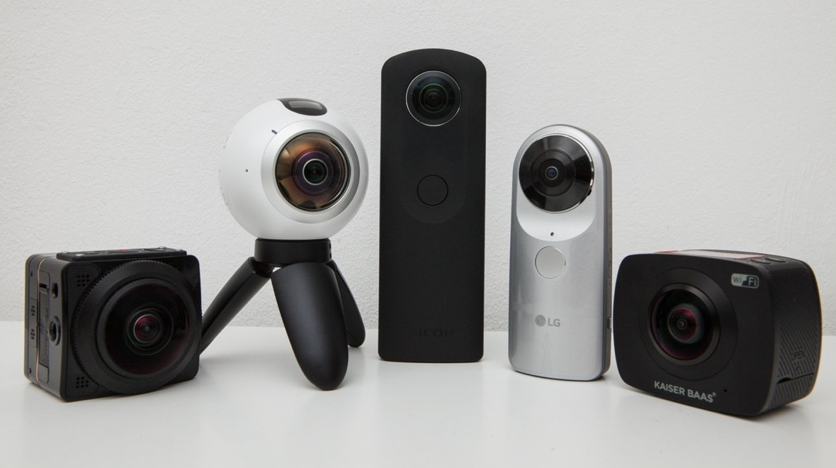 Big test: 360 degree cameras rated