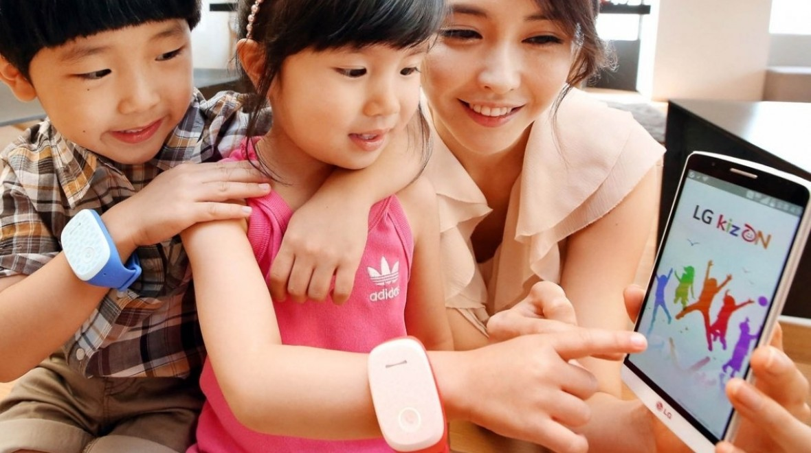LG GizmoPal kids wearable hits the US