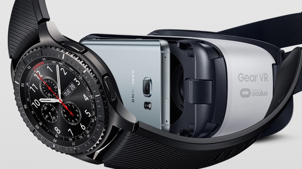 Gear S3 to control Gear VR