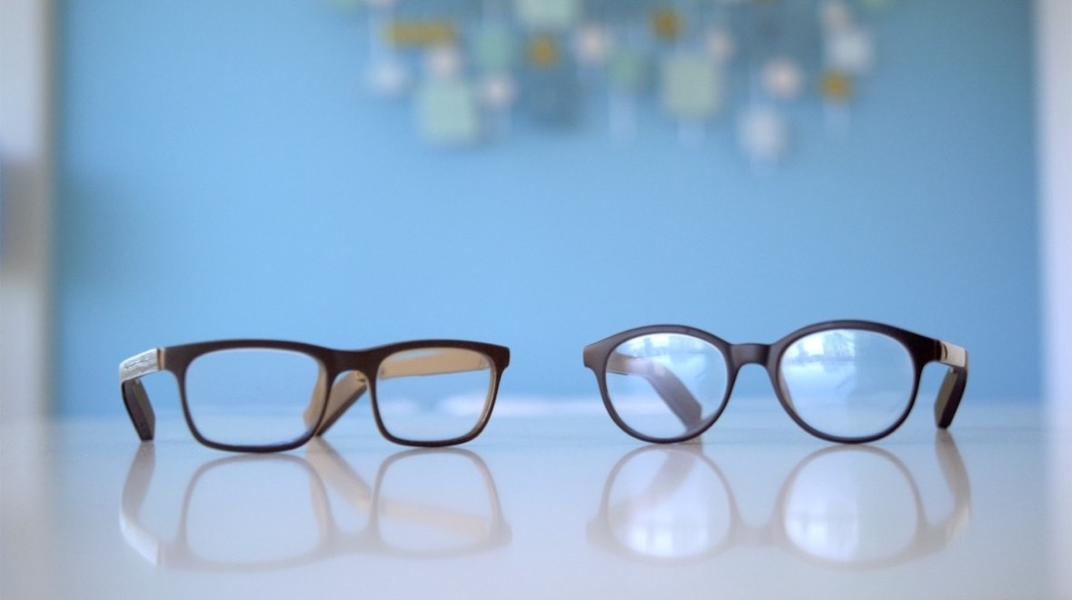Vue smartglasses are simple and stylish