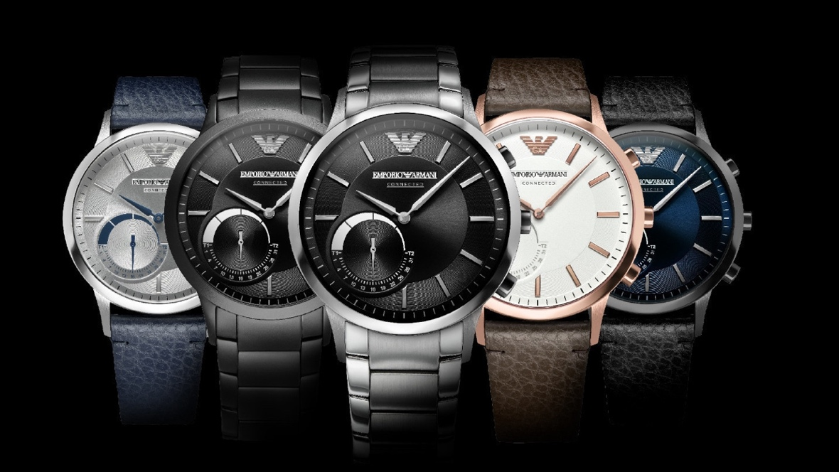 Emporio Armani Connected Hybrid Smartwatches Now Available
