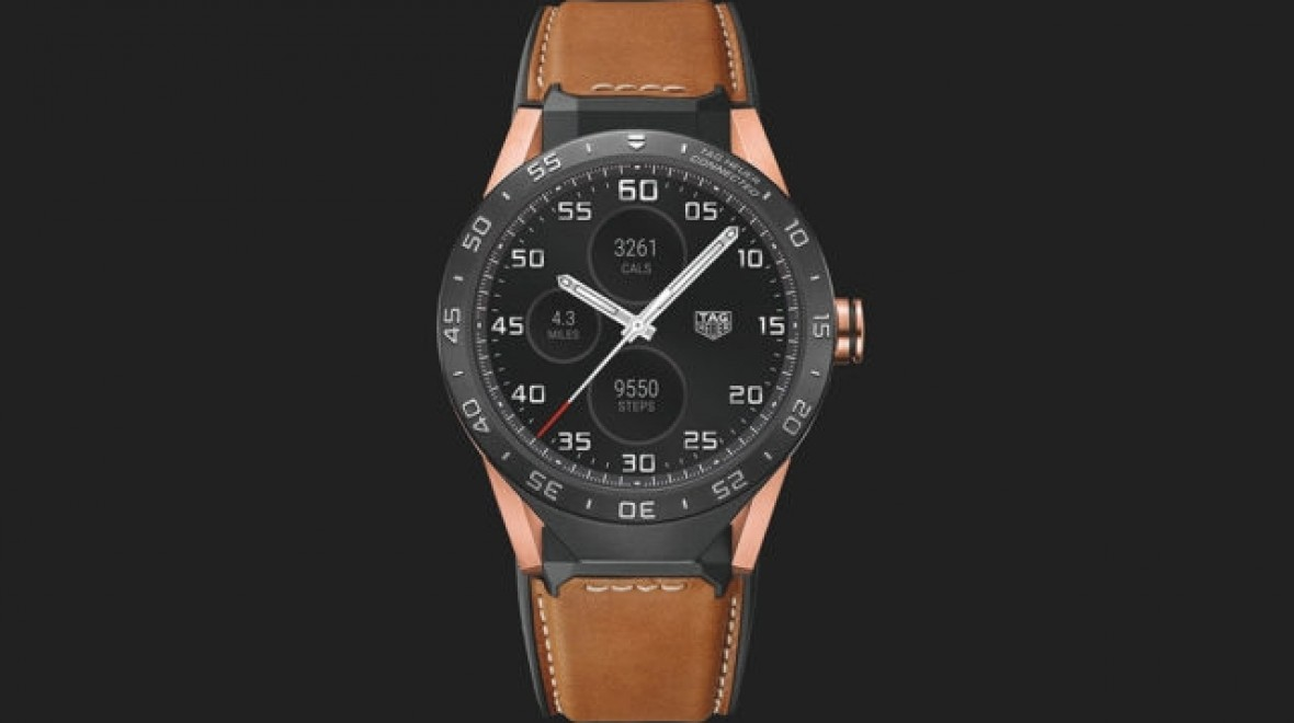 Tag Heuer's $10K rose gold Connected