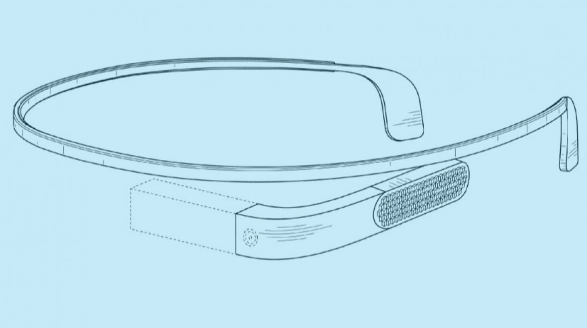 Google Glass 2.0 patent hits the web
