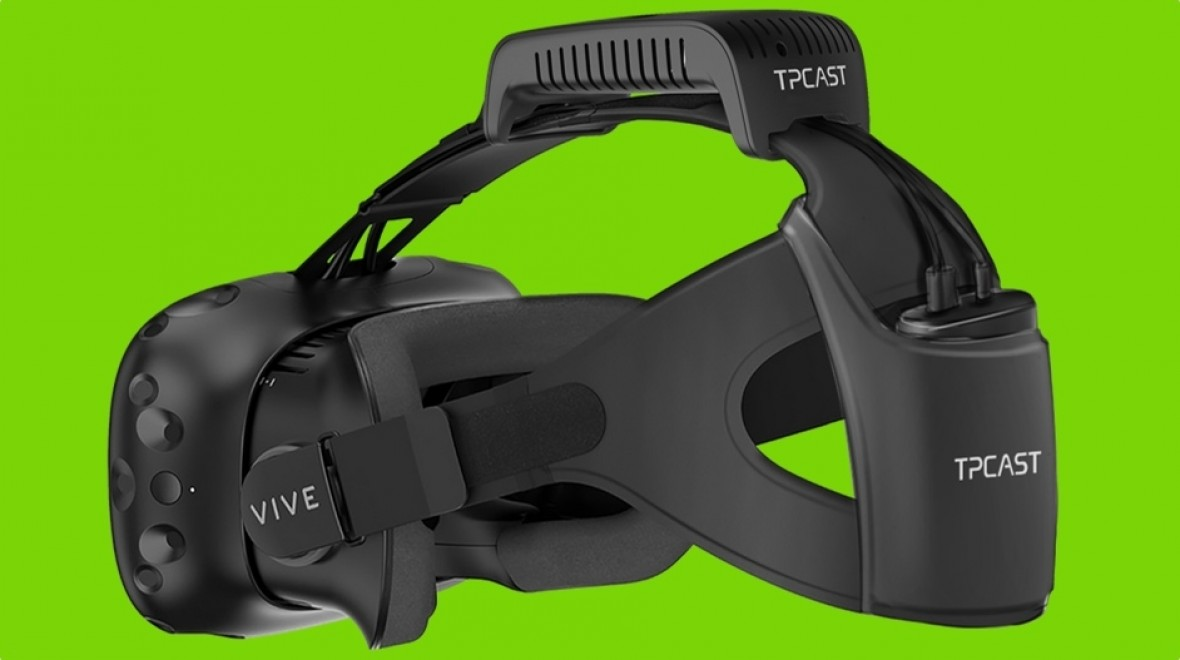 HTC Vive goes wireless