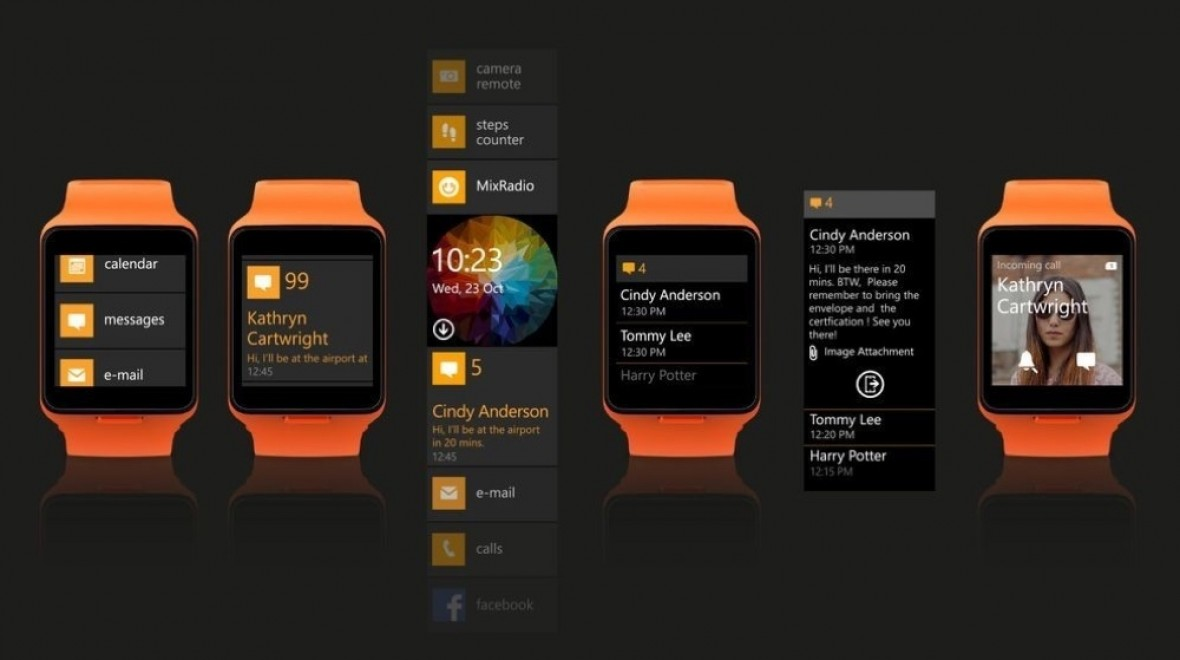 The Nokia smartwatch turns up on video