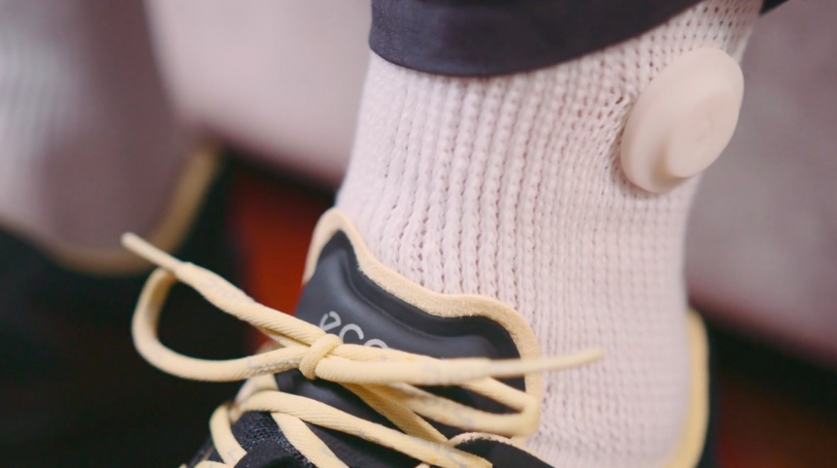 And finally: Smart socks for diabetics