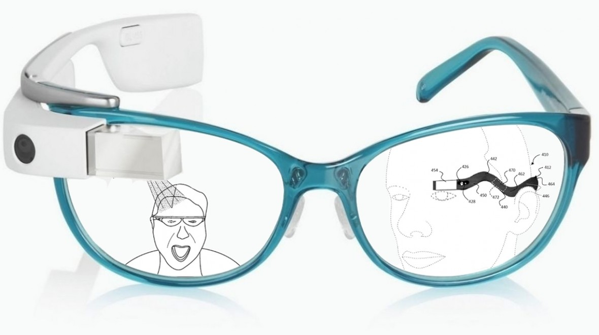 The patent history of Google Glass