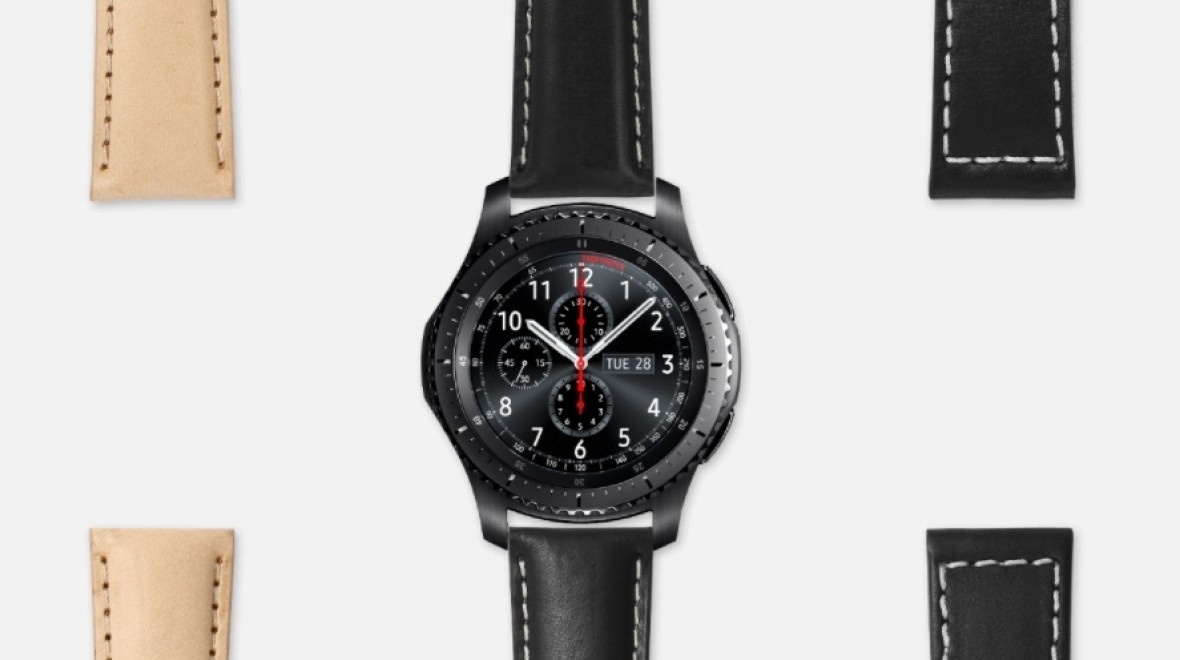 And finally: Samsung Gear S3 suits up