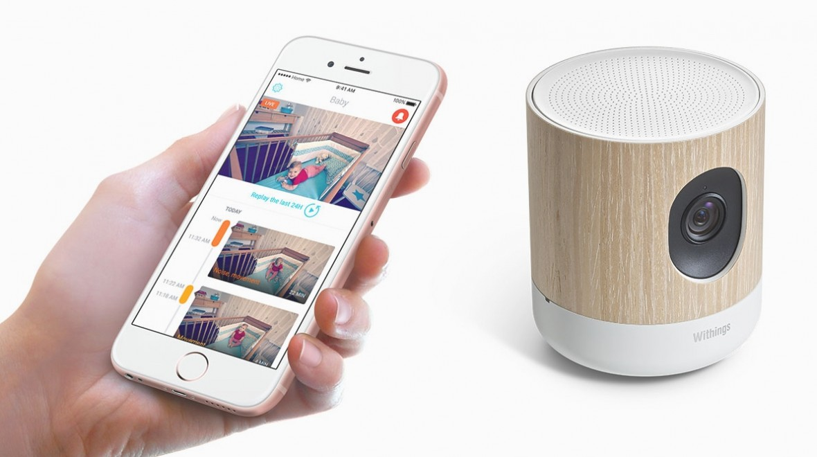 Withings' new camera works with HomeKit