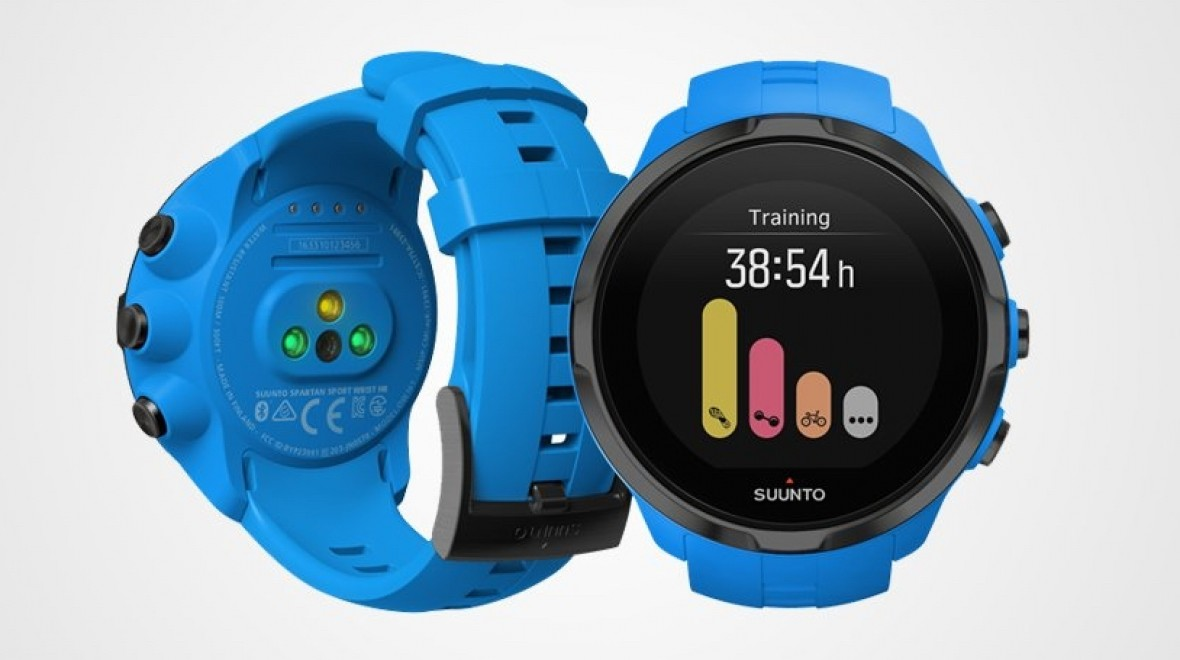 Suunto announces first HR sports watch